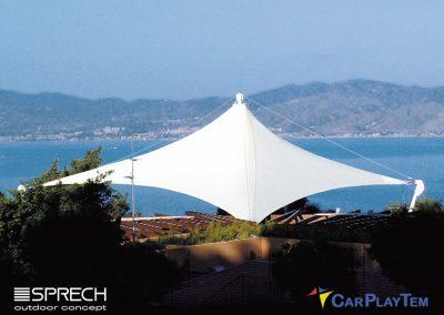 Carpas con Arquitectura Textil por CarPlayTem en Canarias
