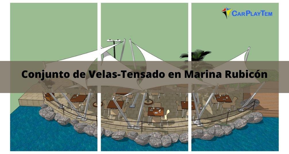 Conjunto de Velas-Tensado en Lanzarote